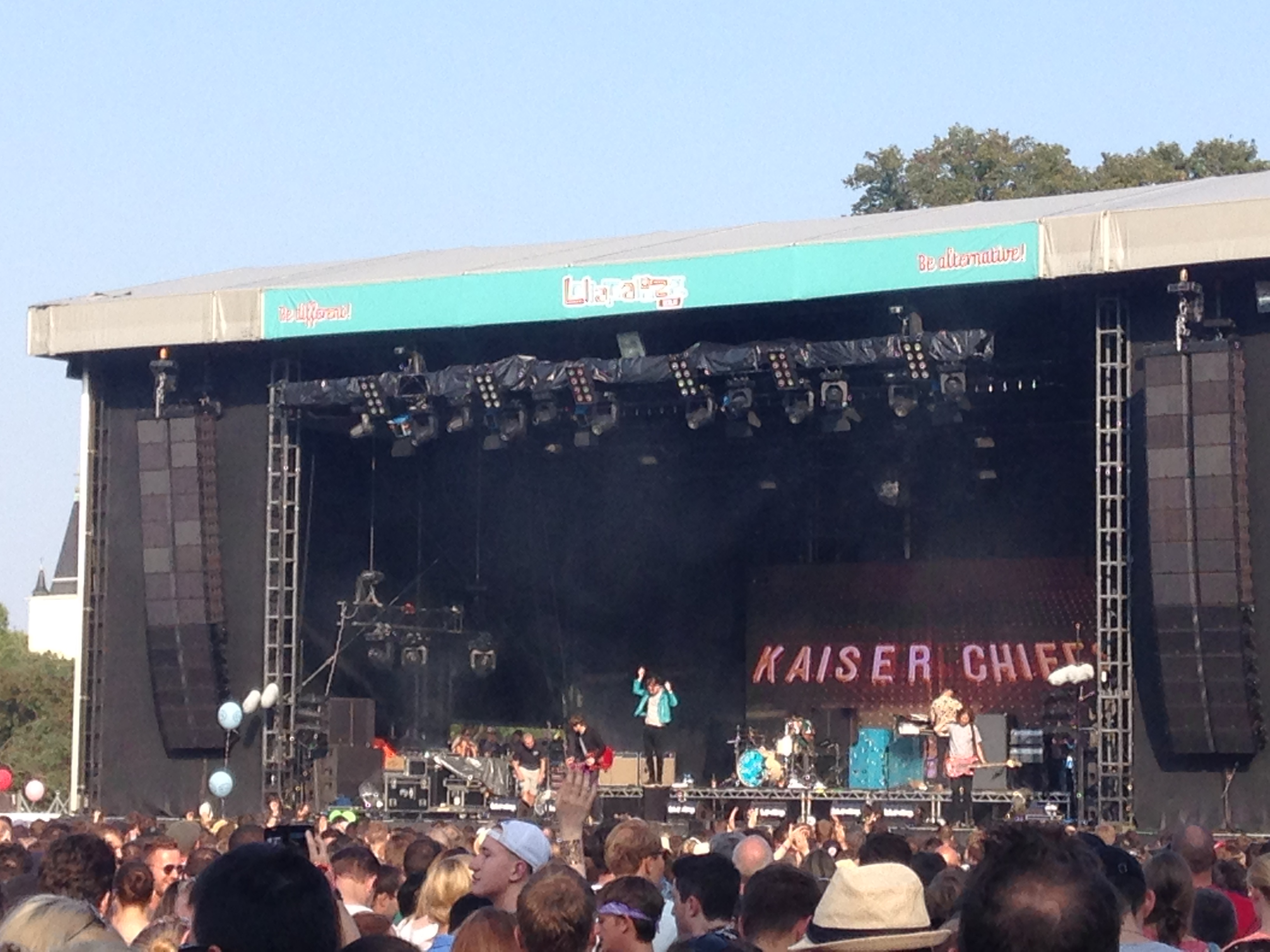 Kaiser Chiefs in action